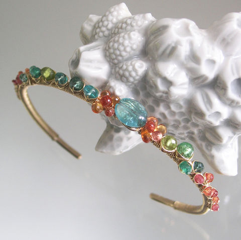 Beach,Jewels,14k,Gold,Filled,Cuff,Bracelet,with,Turquoise,,Apatite,,Orange,Sapphire,,Tsavorite,,Stackable,Gemstone,Jewelry,Gemstone_Cuff,14k_Gold_Filled_Cuff,Turquoise_Apatite,Apatite_Bracelet,Orange_Sapphire,Wire_Wrapped,Wrapped_Jewelry,Tsavorite_Cuff,Stackable_Cuff,Signature_Original,BellaJewels,Apatite_Gold_Cuff,Sapphire_Gold_Cuff,orange sapphires,emerald