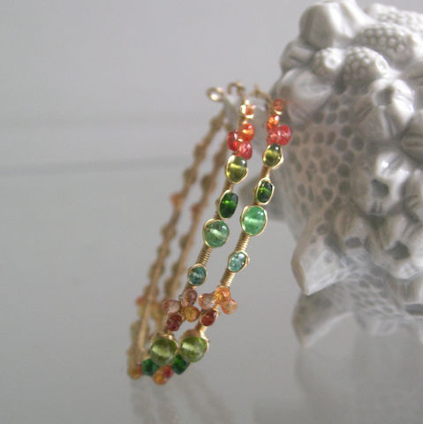 Green,and,Orange,Gemstone,Bejeweled,14k,Gold,Filled,Hoops,,Wire,Wrapped,Earrings,with,Sapphires,,Tsavorite,,Diopside,,Emerald,Jewelry,Green_and_Orange,Gemstone_Bejeweled,14k_Gold_Filled,Gold_Hoops,Wire_Wrapped,Wrapped_Earrings,Sapphires_Hoop,Tsavorite_Hoops,Diopside_Hoops,Emerald_Earrings,Original_Design,Bellajewels,Gemstone_Gold_Hoops,14k gold filled wire,gemstones,eme