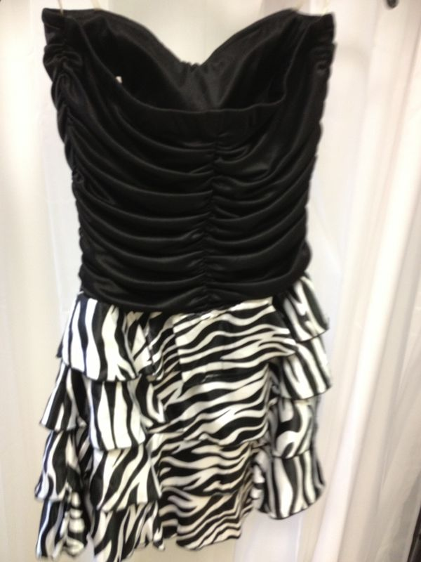 Zebra Party Dresses 7