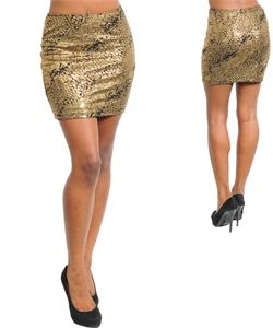 Black,and,Gold,Faux,Snake,Skin,Printed,Short,Pencil,Skirt,Snake Skin Skirt, Snake Skin, Pencil Skirt, Gold Skirt, Black Skirt