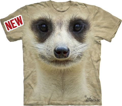 The,Mountain,Meerkat,Eco-Friendly,T-Shirt,The Mountain T-Shirt, Meerkat T-Shirt, T-Shirts, All Natural T-Shirt, Eco-Friendly T-Shirt, Eco-Friendly