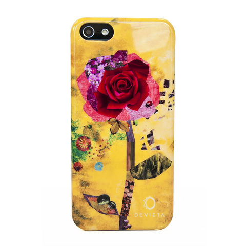 Devieta,Patchwork,Rose,IPhone,5,Case,Devieta Patchwork Rose IPhone 5 Case, Rose IPhone 5 Case, Devieta IPhone 5 Case, IPhone 5 Case, Patchwork Rose IPhone 5 Case, Rose Phone Case