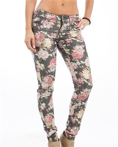 Charcoal,Floral,Skinny,Jean,Black Skinny Jean, Black Floral Skinny Jean, Black Skinny Jean with Flowers, Black Skinny Jean with Coral and White Flowers, Black Skinny Jeans with Coral Flowers, Black Skinny Jeans with White Flowers, Black and Coral Skinny Jeans, Black and White Skinny