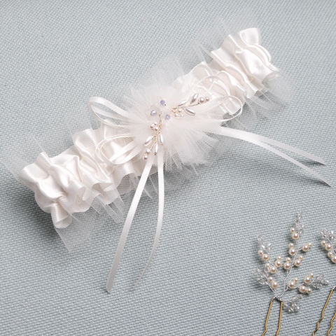 Bridal,Garter,-,Something,Blue,Weddings,Clothing,bridal_garter,something_blue,garter,tulle_garter,beaded_garter,wedding_accessories,bridal_accessories,wedding_gifts,brides_garter,bride_gift,wedding_gift,gifts_for_brides,wedding_garters