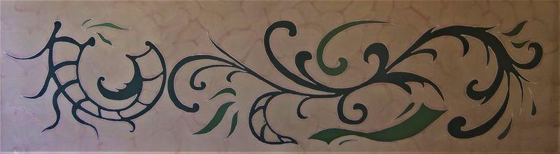 Motif Art Deco - Timba Silks