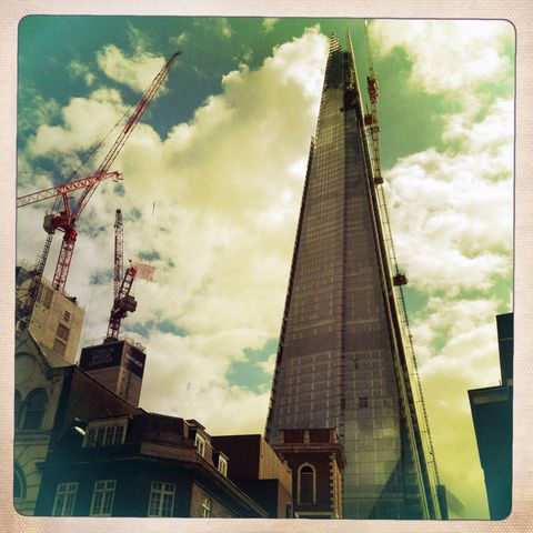 Going,Up,Bob Lambourne, The Shard, London, Photography, Shot Collective