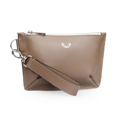 Mink,Mini,Sienna,Clutch,Bag,clutch bag, evening bag, clutch with zip, women's clutch bag, neutral clutch bag, nude, neutral