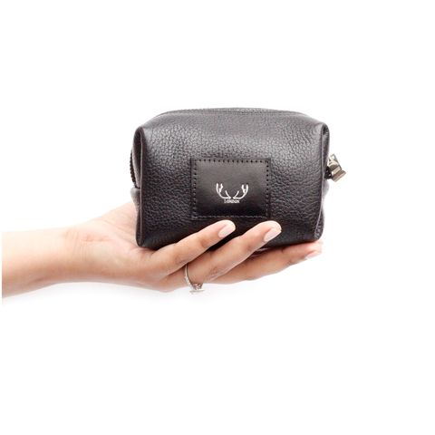 *NEW*,Black,Petite,Millie,Cosmetic,Bag,millie, make up bag, cosmetic bag, black,