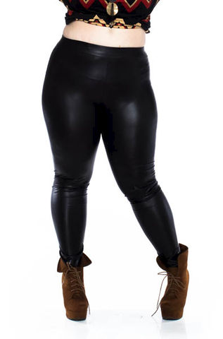 Faux,Leather,Leggings,black plus leggings,black pants,black faux plus leather leggings, faux plus leather leggings, black fitted plus pants,plus pants ankle length,kurvacious