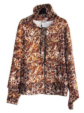 Safety,Pins,Hooded,Sweater,Leopard by Belle Sauvage Spring Summer 2013 Safety Pins Sweater. Ready to wear Fashion. Belle Sauvage London.