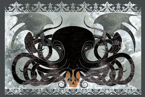 Dark,Matter,-,Cthulhu,fantasy,illustration,hp lovecraft, cthuhlu, elder god