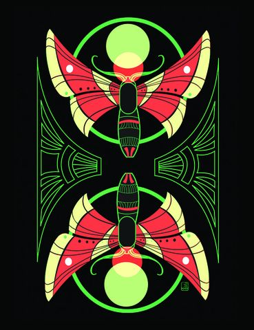 Radiant,Moths,moths, moth art