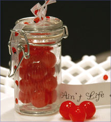Oval,clip,top,favour,jar,Wedding favours, favour jars, sweet favours