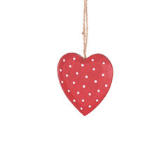 Polka,dot,heart,decoration,shabby chic wedding, heart favours, wooden favours