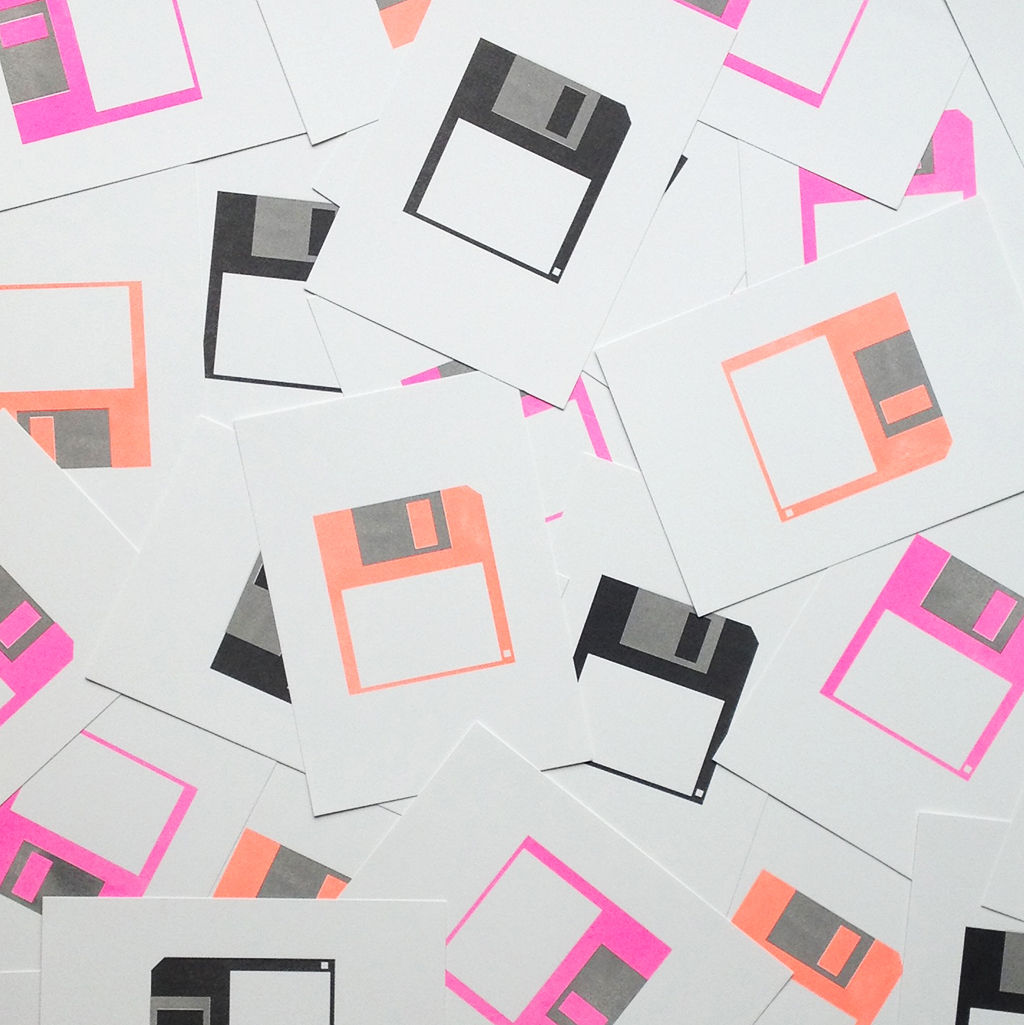 Floppy Disk Print - product images  of