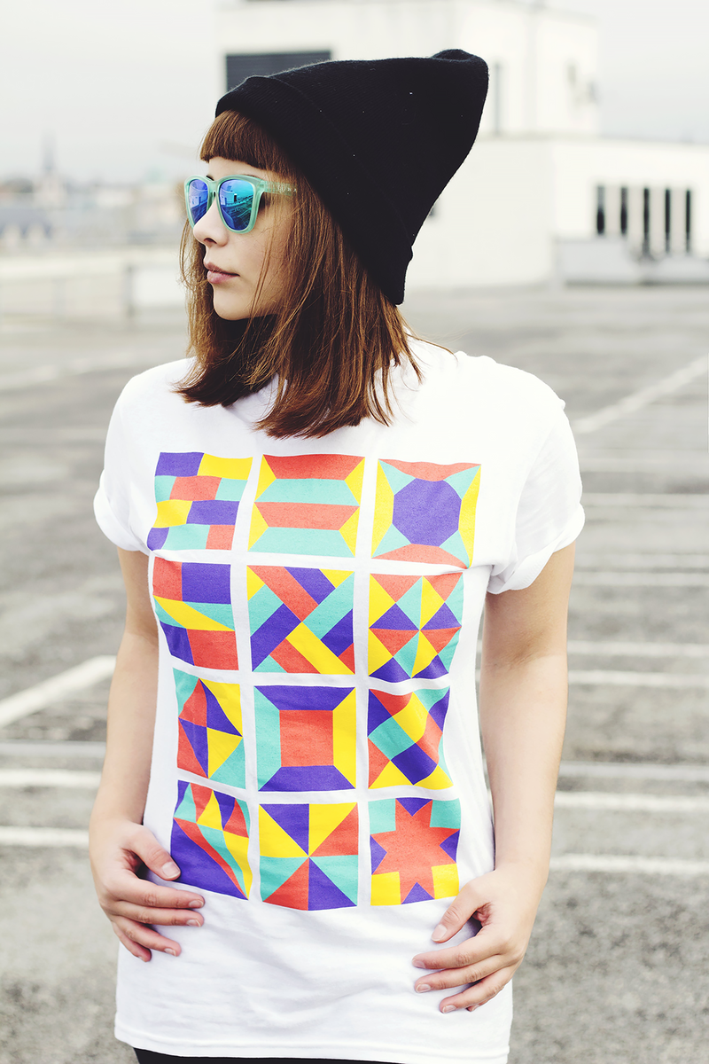 Squares T-shirt - product images  of