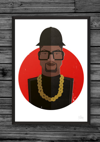 Hip,Hop,Trio,(Ltd,Edition),hip, hop, head, heads, dale, edwin, murray, prints, print, art, buy, online, giclee, exclusive