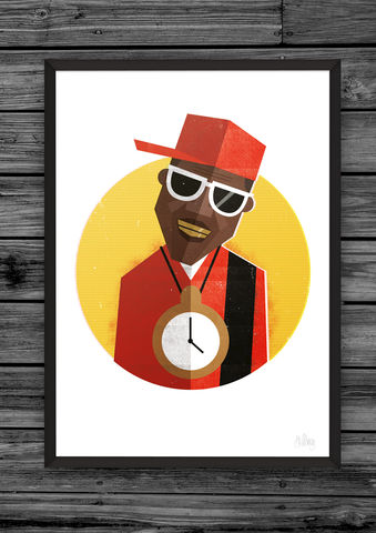 Hip,Hop,Head,3,hiphop, hip, hop, head, heads, dale, edwin, murray, prints, print, art, buy, online, giclee, exclusive