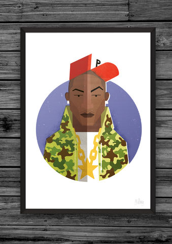Hip,Hop,Head,5,hip, hop, head, heads, dale, edwin, murray, prints, print, art, buy, online, giclee, exclusive