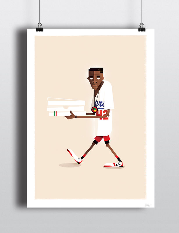 Mookie print (Limited edition) - product images  of