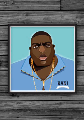 HipHopHead,27,illustration, giclee, dale, edwin, murray, print, buy, limited, edition, art, illustrator, graphic artist, digital, wall art, biggie, notorious, big