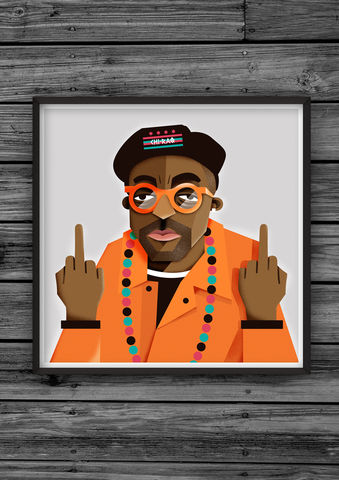 Spike,Lee,Fuck,The,Oscars,Artist,Proof,illustration, giclee, dale, edwin, murray, print, buy, limited, edition, art, illustrator, graphic artist, digital, wall art, snoop, dogg