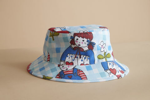 Kids,Ragdoll,bucket,kids hat, childrens hat, kids sun hat, childrens sun hat