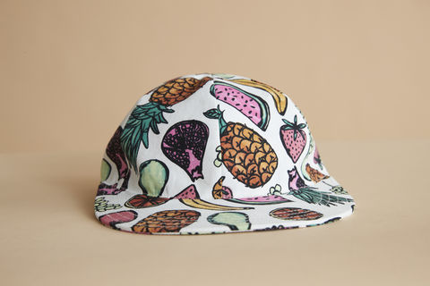 Fruit,salad,cap,kids cap, kids hat, childrens hat, childrens cap