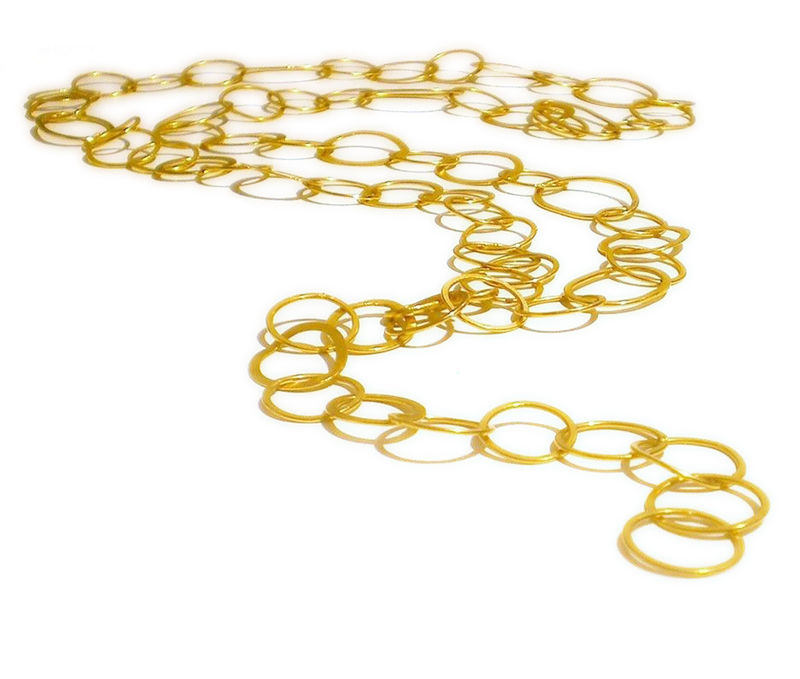 La Grande Coco  Handcrafted 18K yellow gold chain - product images  of