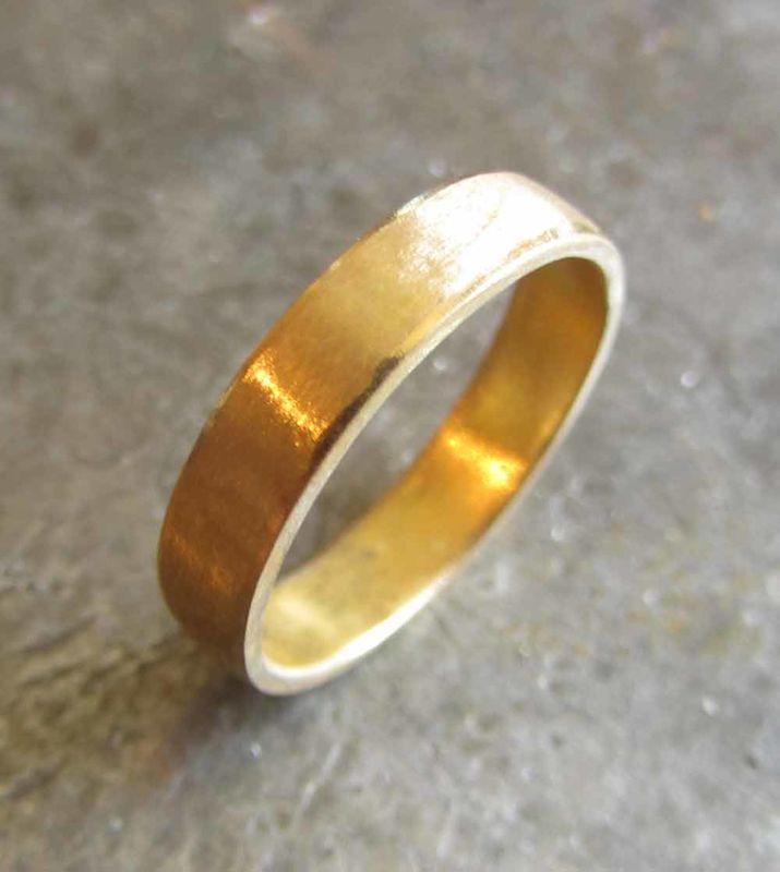 22ct Gold Wedding Band Catherine Marche Bespoke Fine Jewellery