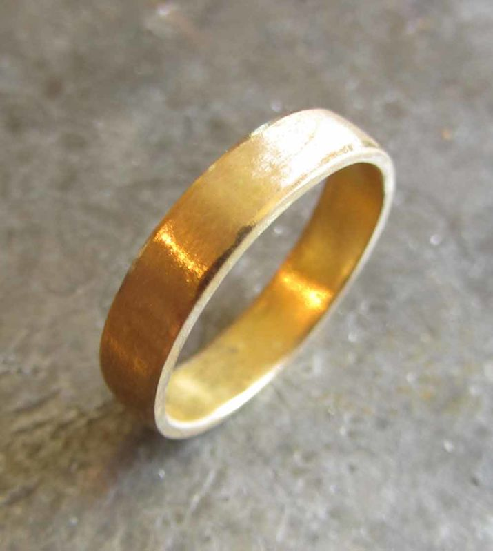22ct Gold Wedding Band - product images  of