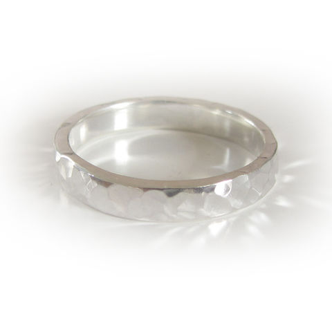 Bespoke,White,Gold,Rings,bespoke wedding rings, hammered white gold
