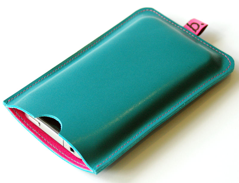 Leather Sleeve for iPhone - product images  of