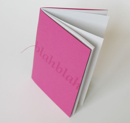 Blah Blah notebooks (set of 3) - product images  of