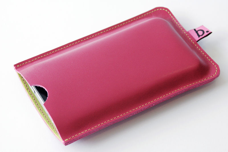 Leather Sleeve for iPhone (personalised) - product images  of