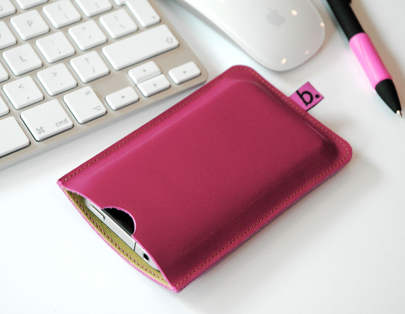 Leather Sleeve for Smartphone - product images  of