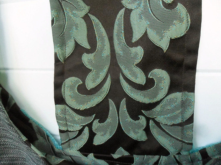 Aqua Cut Velvet - product images  of