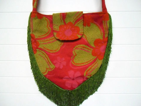 Lime,Green,and,Pink,Chenille,hippie_bag