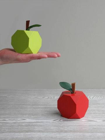 'Low-res',Apple,Ornaments,wood apple,lo-res,apple ornament,teacher gift,apple decoration,wooden fruit,apple,low res