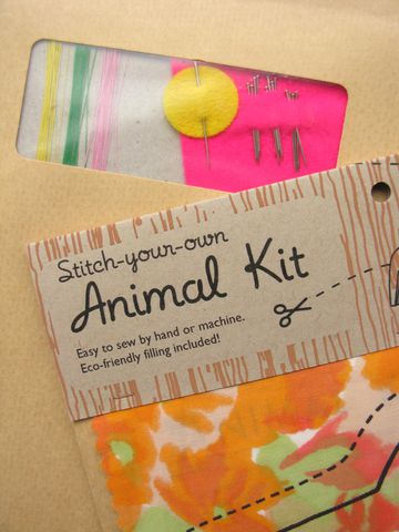 Giraffe, Elephant & Alligator Sewing Kit - product images  of