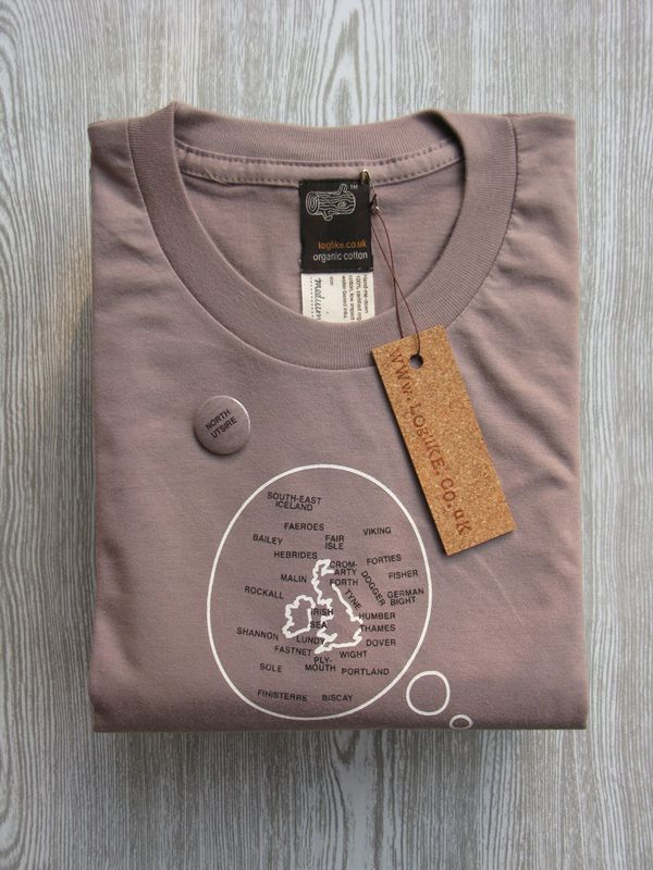 Thinking Pigeon Mens Organic Cotton Tshirt - product images  of