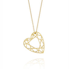 MEDIUM,HEART,DIAMOND,NECKLACE,-,GOLD