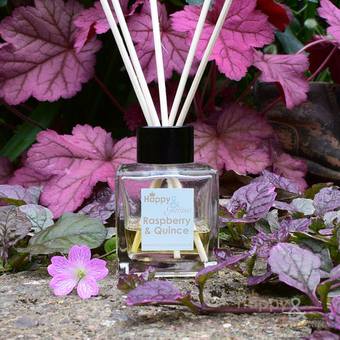 Organic,raspberry,&,quince,fragrance,reed,diffuser, quince, pear, sweets, smell, air freshener, Diffuser, Organic, British, reeds, fragrance, oil, recycled, relaxing, scent, scented, made in Britain, made in UK