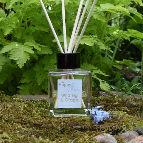 Wild,fig,&,grape,fragrance,reed,diffuser, grape, smell, air freshener, Diffuser, British, reeds, fragrance, oil, recycled, relaxing, scent, scented, made in Britain, made in UK