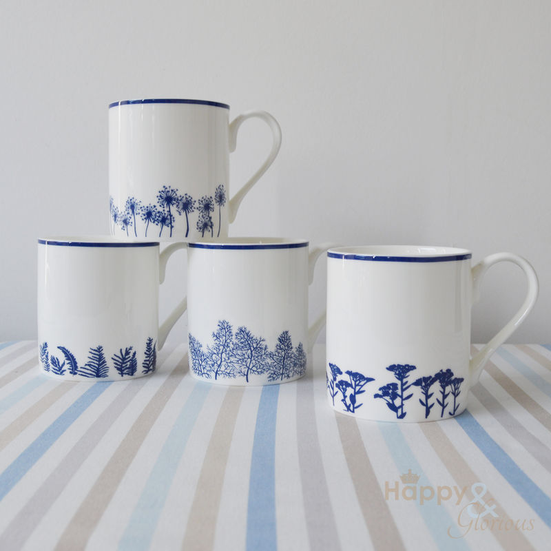 British made mugs, jugs plates