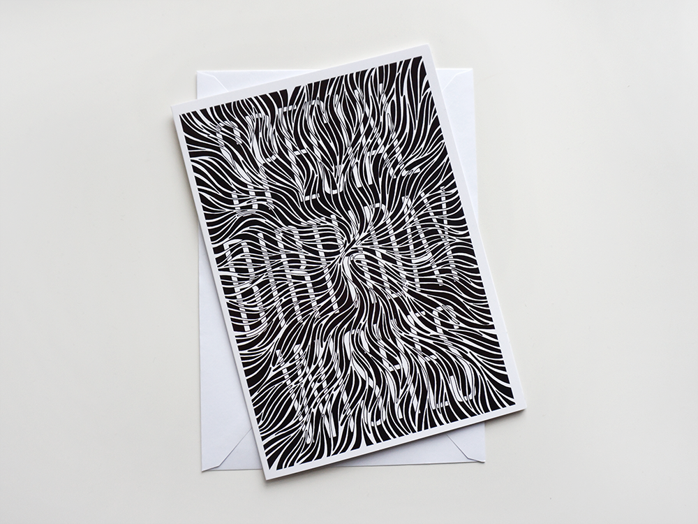 Birthday Card: Mono - product images  of