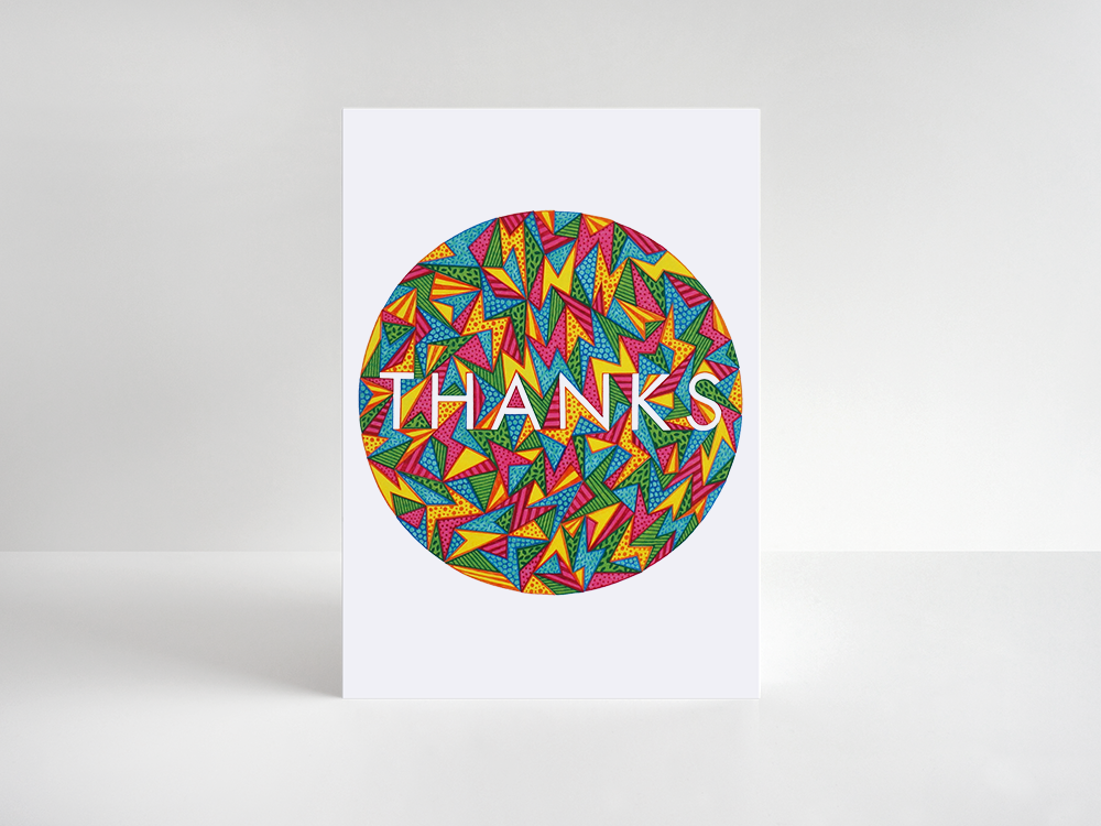 Thank You Card: Multi - product image