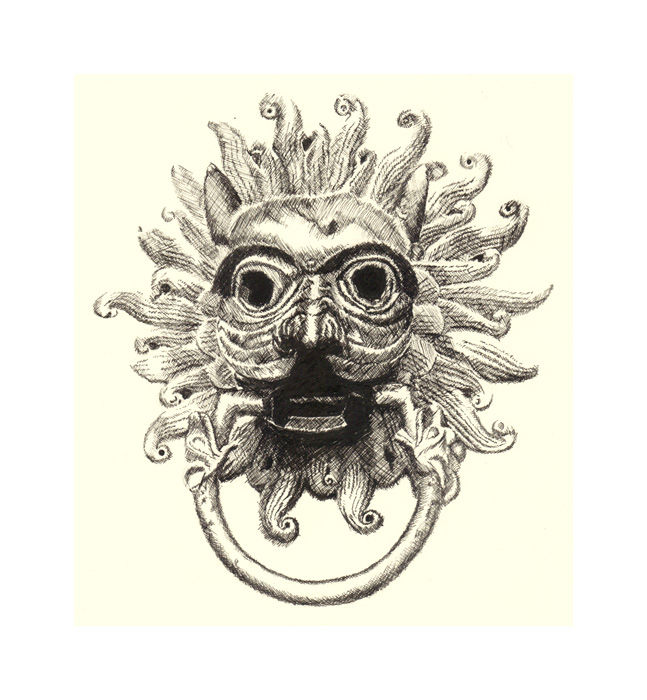 Durham Cathedral Drawings Durham Cathedral Knocker