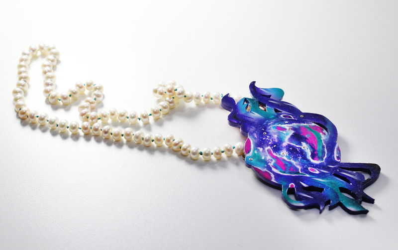 Synaesthetic Fragments Necklace/Brooch Series no.3  - product image