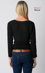 NOW 75% Off!! Our Lace Trim Long Sleeve Shrug - product images 3 of 3